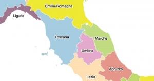 Toscana Umbria Cartina.Toscana Umbria E Marche Un Progetto Per Creare Un Unica Maxiregione