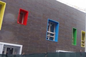 A siena la casa delle finestre che ridono - Casa finestre che ridono ...