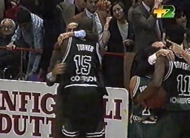 Mens Sana vince a Bologna_1994