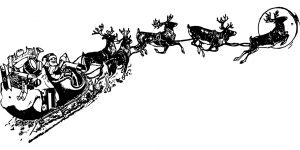 Slitta Babbo Natale
